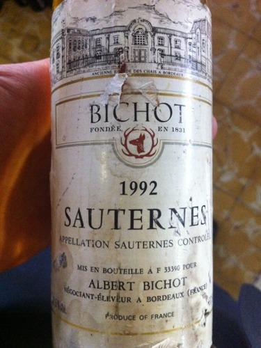 photo Bichot Sauternes