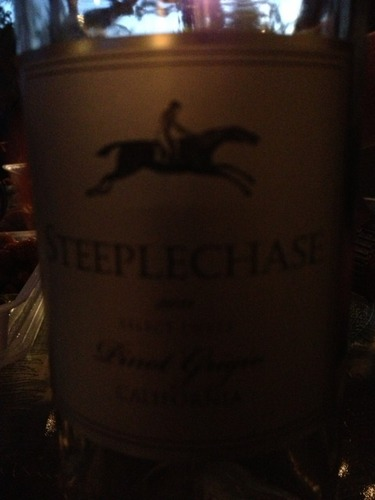 Steeplechase Select Cuvée California Pinot Grigio 2010