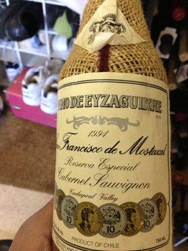 San Francisco De Mostazal Chile  city photo : Eyzaguirre San Francisco De Mostazal Reserva Especial Cabernet ...