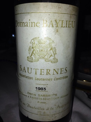 photo Domaine Baylieu Sauternes