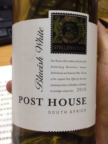 Post House Stellenbosch Blueish White 2010