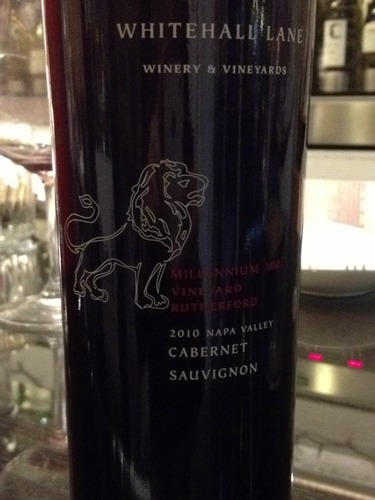 Whitehall Lane Cabernet Sauvignon Millennium MM Vineyard 2010
