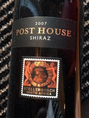 Post House Shiraz 2007