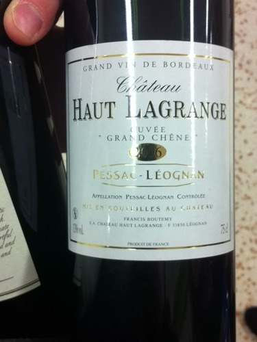 ch teau haut lagrange pesssac leognan 2006 wine info. Black Bedroom Furniture Sets. Home Design Ideas