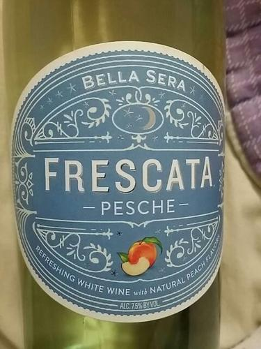 Bella sera frescata pesche wine info for The bella sera