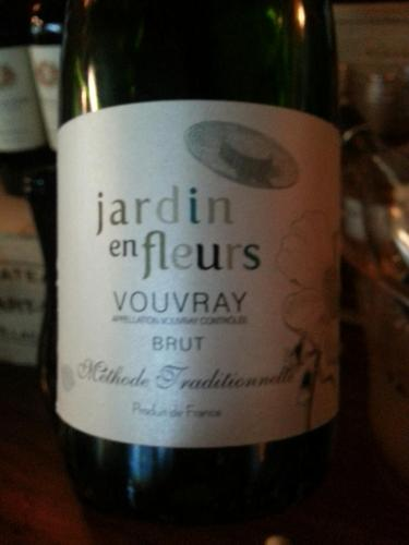 Jardin en fleurs vouvray brut methode traditionnelle for Jardin winery