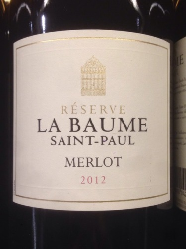 domaine de la baume merlot r serve saint paul 2012 wine info. Black Bedroom Furniture Sets. Home Design Ideas