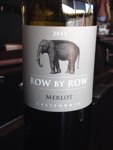 Row By Row California Merlot 2009