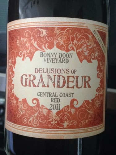 Bonny Doon Delusions Of Grandeur Central Coast Red 2011