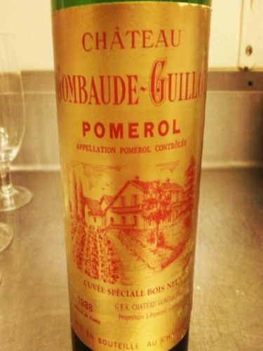 Chateau Gombaude-Guillot Pomerol Cuvee Speciale Bois Neuf
