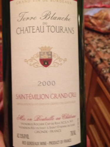photo Terre Blanche du Chateau Tourans Saint-Emilion Grand Cru