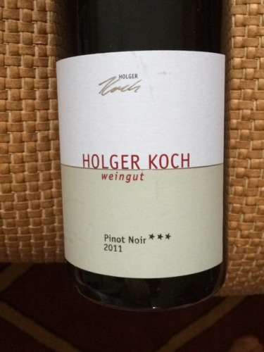 Holger koch pinot noir wine info for Koch 3 winde