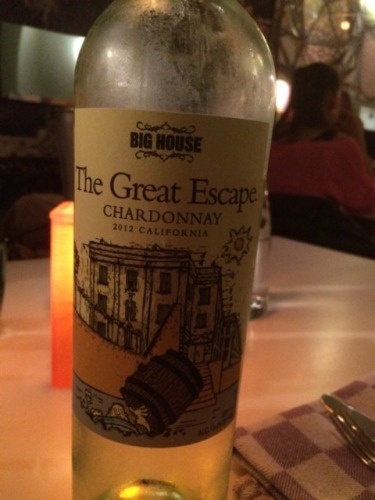 Big house chardonnay the great escape 2012 wine info for The great escape house
