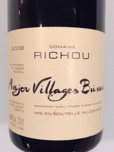 Domaine Richou Anjou Villages Bussx 2008