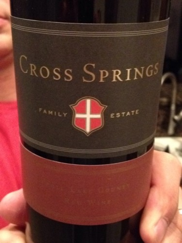Cross Springs Family Estate Lake County Red