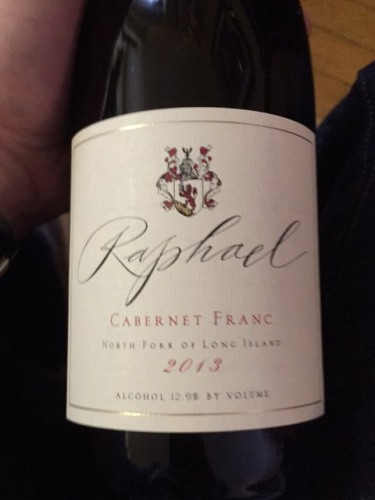 Raphael Cabernet Franc 2014 Long Island Red Wine 750mL