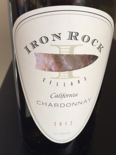 Iron Rock California Chardonnay 2012