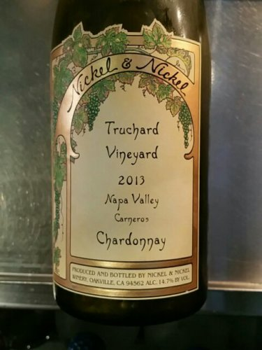 nickel nickel chardonnay truchard vineyard 2013 wine info. Black Bedroom Furniture Sets. Home Design Ideas