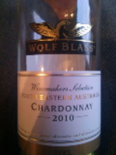 Wolf Blass Winemaker's Selection Chardonnay 2010