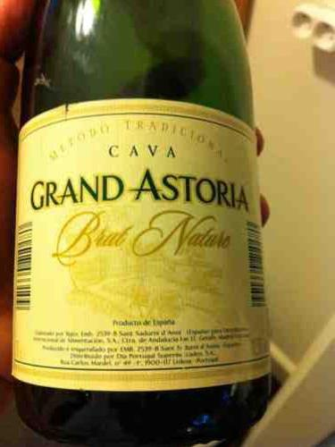 Cava Grand Astoria Brut Nature 2008