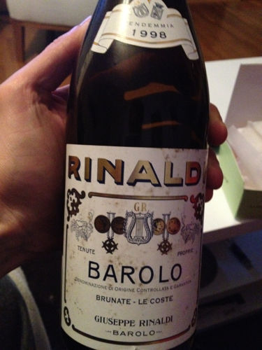 Giuseppe Rinaldi Barolo Brunate Le Coste 2006 Barolo Brunate Le Coste 2006