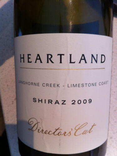 Heartland Shiraz Director's Cut 2009