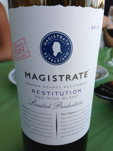 Magistrate Limited Cabernet Sauvignon 2010
