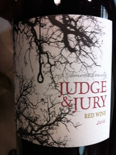 Judge & Jury Sonoma County Red 2010