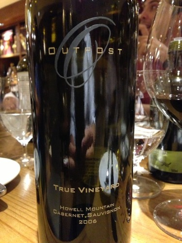 Outpost True Vineyard Cabernet Sauvignon 2009 True Vineyard Cabernet Sauvignon 2009