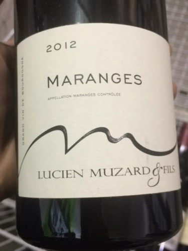 lucien muzard fils c te de beaune maranges 2012 wine info. Black Bedroom Furniture Sets. Home Design Ideas