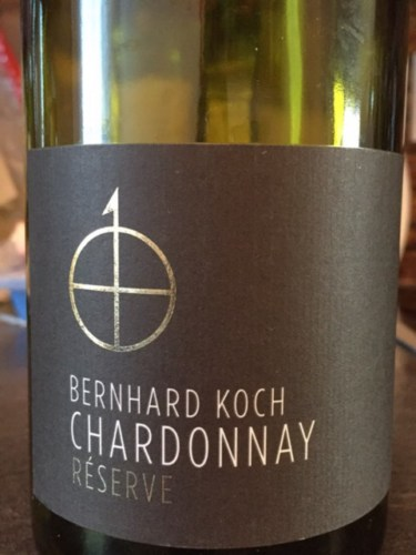 Bernhard koch reserve chardonnay 2013 wine info for Koch 3 winde