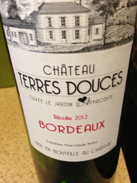 Douces cordier cuvee le jardin d aphrodite bordeaux wine for Le jardin high wine