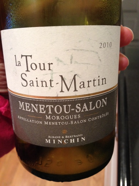 Albane bertrand minchin la tour saint martin menetou for 1996 salon champagne