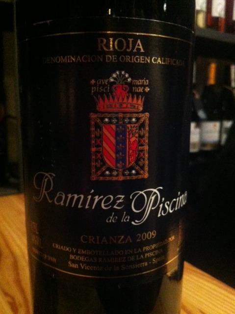 Ramirez de la piscina crianza wine info - Ramirez de la piscina ...