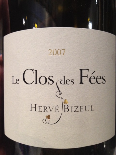 le clos des fees herve bizeul 2015 wine info. Black Bedroom Furniture Sets. Home Design Ideas