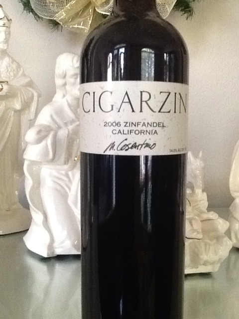 Cosentino Cigar Zin Old Vine Zinfandel 2006 Wine Info