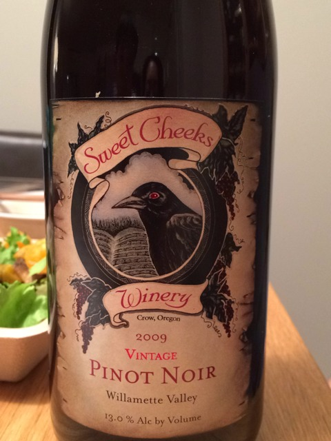 Sweet Cheeks Pinot Gris 2009 Wine Info