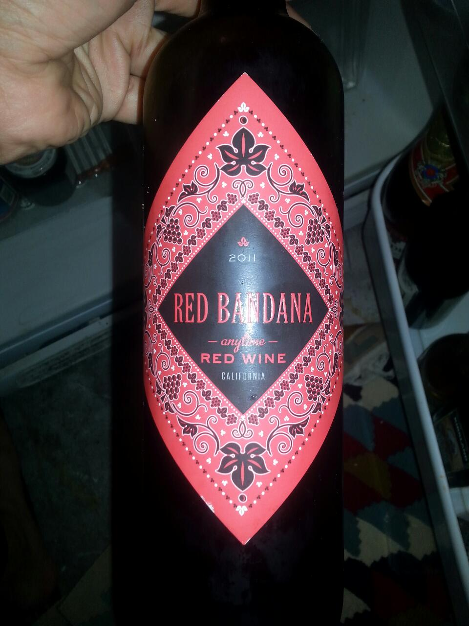 Red Bandana California Red 1980 Wine Info