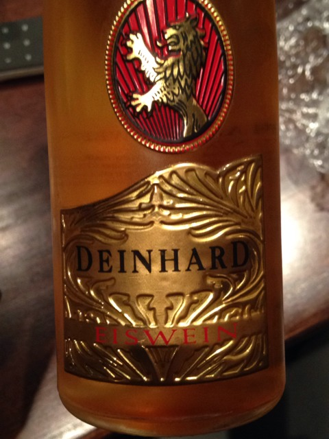 Deinhard eiswein wine info for Deinhard wine