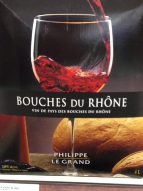 Philippe le grand pays des bouches du rh ne 2014 wine info for Info regionale bouche du rhone