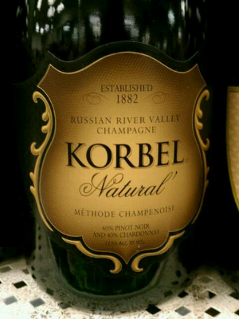 Korbel Natural Champagne Review