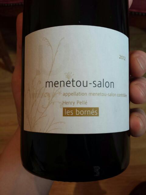 Henry pell menetou salon les bornes 2012 wine info - Assadet menetou salon ...