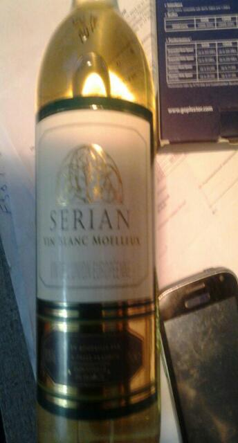 serian vin blanc moelleux 2008 wine info. Black Bedroom Furniture Sets. Home Design Ideas
