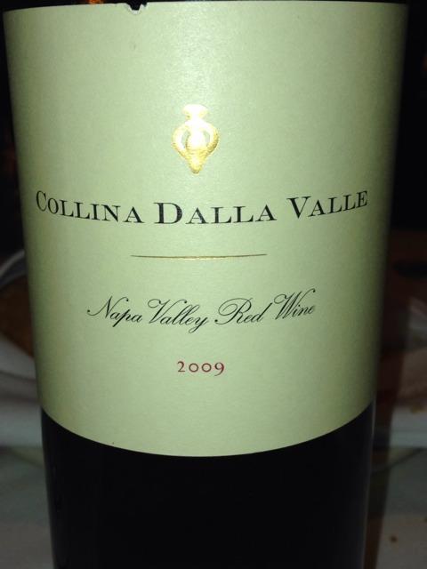 Dalla Valle Collina 2009 Wine Info