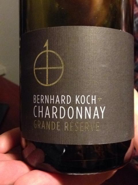 Bernhard koch grande reserve chardonnay 2000 wine info for Koch 3 winde