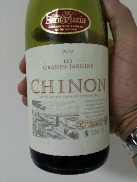 Foucher lebrun les grands jardins chinon 2014 wine info for Grand jardin wine