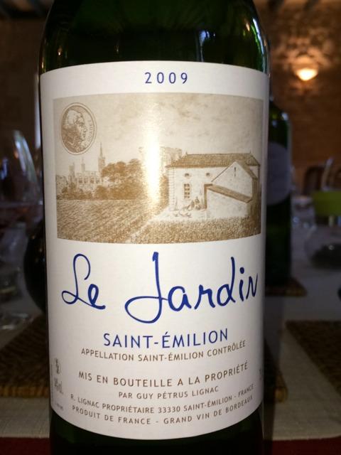 Guy petrus lignac le jardin saint milion nv wine info for Le jardin high wine