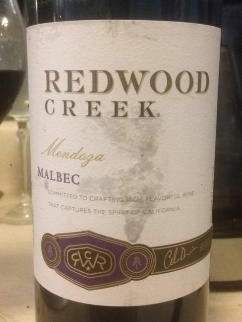 Redwood Creek Malbec 2009 Wine Info