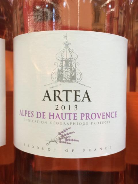 Artea alpes de haute provence wine info for Haute provence info