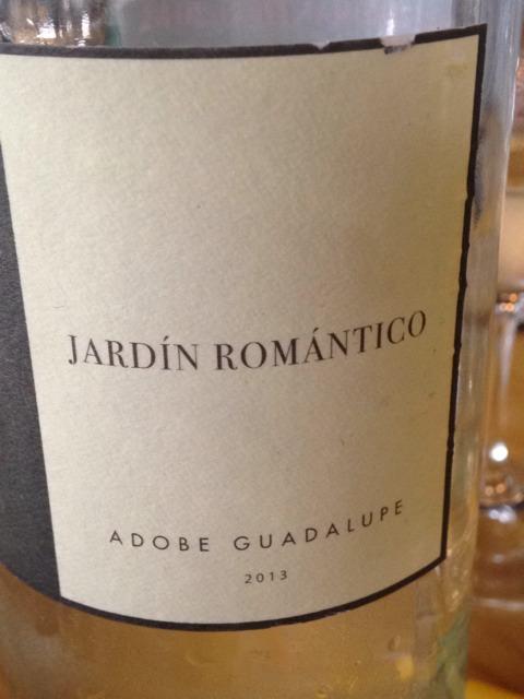 Adobe guadalupe jard n rom ntico 2013 wine info for Jardin secreto wine